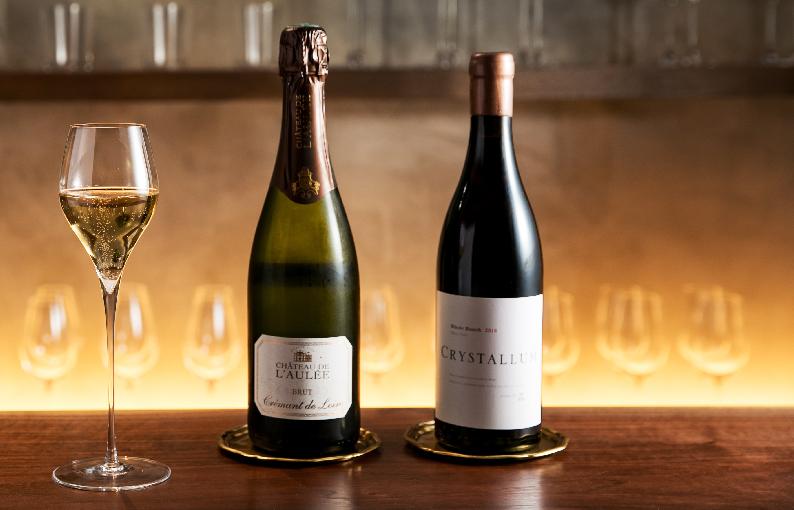 NOVEL メニュー Wine & Champagne